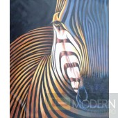 Modrest ADC7197 - Modern Zebra Oil Painting