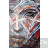 Modrest ADC7765 - Modern Woman Oil Painting