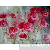 Modrest ADC7836 Floral Oil Painting On Canvas