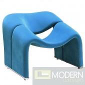 Cusp Lounge Chair Blue