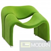 Cusp Lounge Chair Green