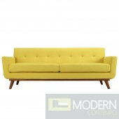 Engage Upholstered Sofa SUNNY YELLOW