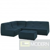 Align 4 Piece Upholstered Sectional Sofa