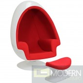 Alpha Lounge Chair RED