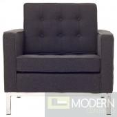 Loft Wool Armchair dark Grey