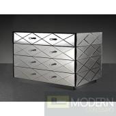Modrest Segovia - Modern Mirrored Bedroom Furniture Dresser