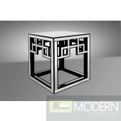 2 Modrest Linley - Transitional Mirrored End Table