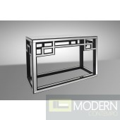 Modrest Linley - Transitional Mirrored Console Table