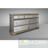 Modrest Evans - Transitional Mirror Dresser