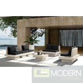 Renava H62 - Modern Patio Sofa Set With Coffee Table
