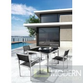 Renava H64 - Modern Patio Dining Set