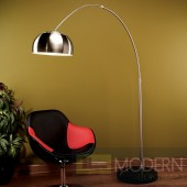 Chrome Arch Floor Lamp