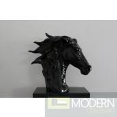 Modrest SZ0002 - Modern Black Horse Head Sculpture