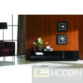 TV Stand 027 in Black High Gloss