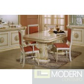 Modrest Rossella - Italian Classic Beige Rectangular Dining Table