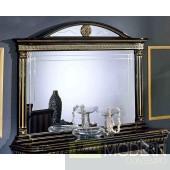 Modrest Rosella - Italian Classic Black Buffet Mirror