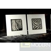 Modrest 1008F - Modern Zebra Wall Art