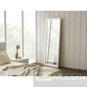 Modrest Roma Modern White Floor Mirror