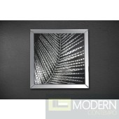 Modrest Palm Square Mirrored Wall Hanging Decor