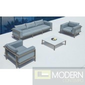 Renava Marina - Sofa, Two Chairs and Coffee Table Patio Set