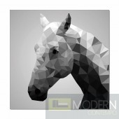 Modrest Horse Photo On Canvas