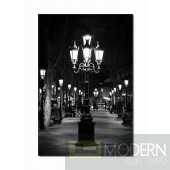 Modrest Night Light Photo On Canvas
