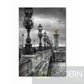 Modrest Lantern Bridge Photo On Canvas