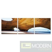 Modrest Dome 3-Panel Photo On Canvas