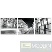 Modrest Turin 3-Panel Painting