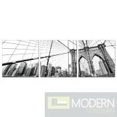 Modrest Brooklyn Bridge 3-Panel Painting