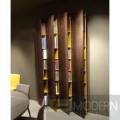 Modrest S510 Modern Brown Oak Bookcase