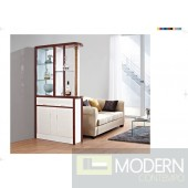 Modern Contemporary Bookcase Curio Display Room Divider.