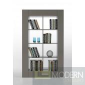 Modrest Modern Grey Lacquer Room Divider