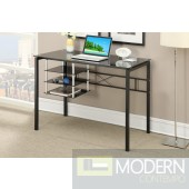 Home Office Writing Black Glass Top MCGSA3047, Free 24 to 72 hours inside delivery DC,MD,VA