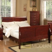 5pc Set Louis Philippe Bedroom Set in Cherry MCGSB101 w/Options, Free Inside Delivery for DMV metro area.