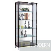 Arque Double Door Curio with Mirror and Light