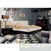 A&X Saxon - Modern Leather Bed
