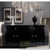 A&X Imperial - Transitional Black Buffet