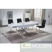 Acacia Rectangular Convertible Coffee/Dining Table