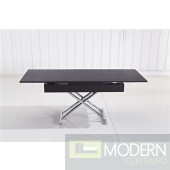 Agatha Rectangular Convertible Coffee/Dining Table