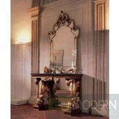 Bakokko Tutori Console Table with Mirror