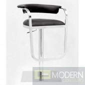 Barb Bar Stool, Black