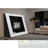 Modrest Bavaro - Modern Lacquer TV Entertainment Center