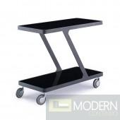 2 Modrest Holt - Modern Black End Table