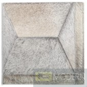 Modrest Benson Modern Cowhide Small Area Rug