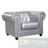 Chestfield Chair, Silver