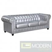 Chestfield Sofa, Silver