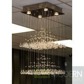 Modrest CK00988-4 Hanging Crystal Ceiling Light