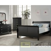 5pc Louis Philippe Bedroom Set MCGSB6702 in Black w/Options, Free Inside Delivery for DMV metro area.