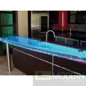 Zuritalia Custom  Glass countertop